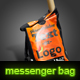 messenger bag with editable text canvas - GraphicRiver Item for Sale