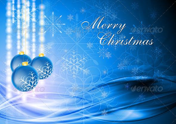 Abstract Christmas background. Vector illustration - Christmas Seasons/Holidays