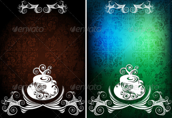 Coffee backgrounds - Backgrounds Decorative