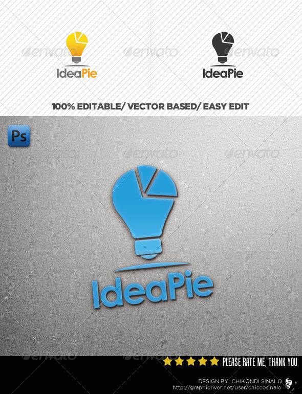 Idea Pie Logo Template - Abstract Logo Templates