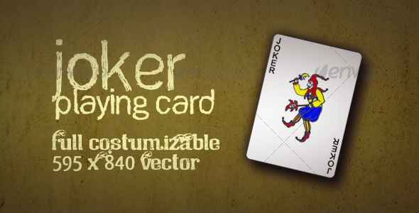 Joker Playing Card Vector - Miscellaneous Vectors
