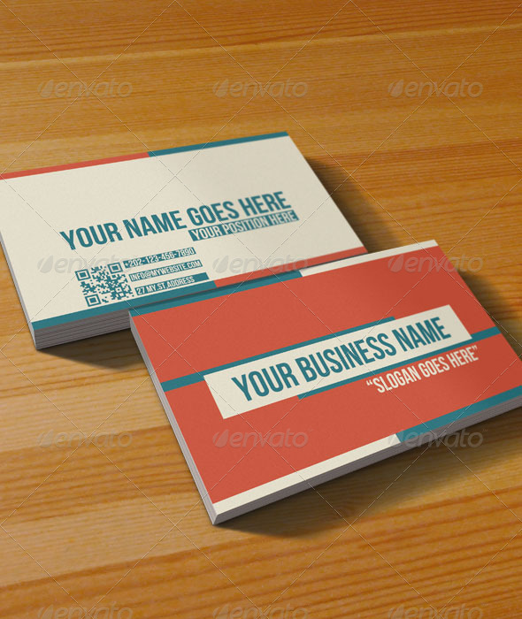 multipurpose retro business card retrovintage business cards