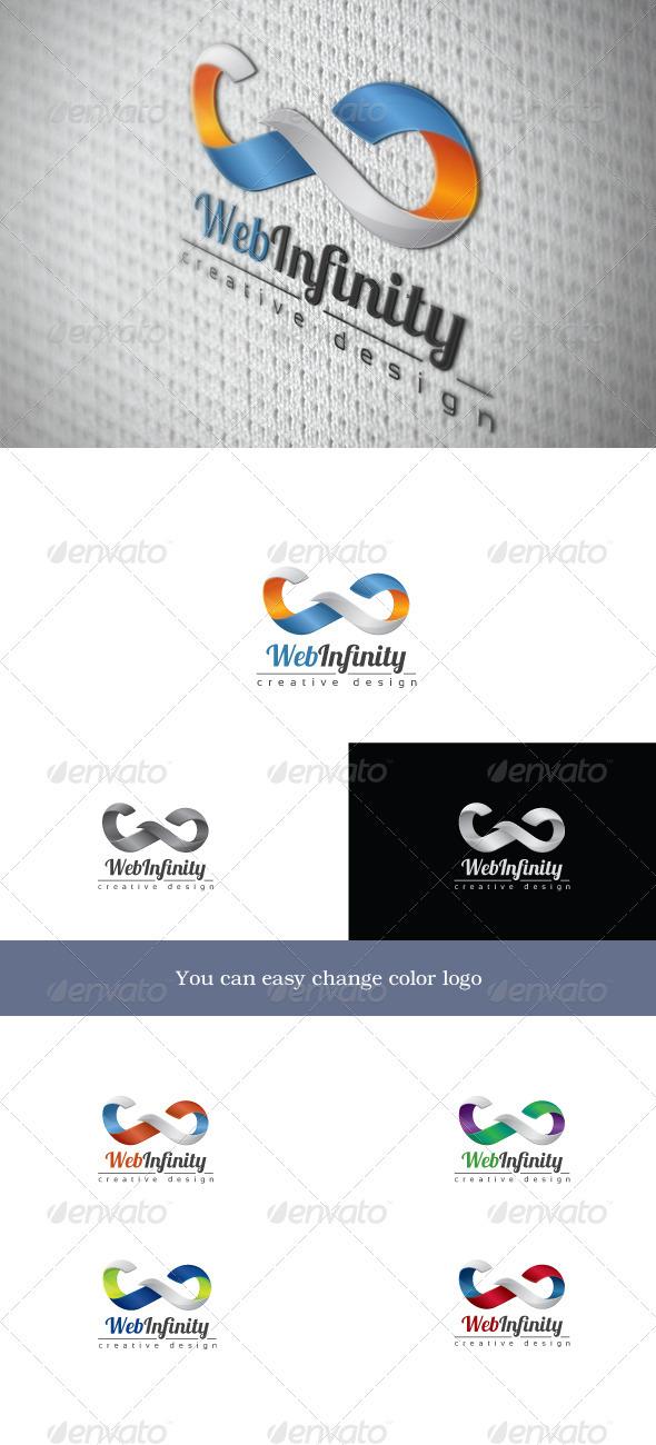 WebInfinity - Letters Logo Templates