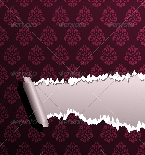Torn wallpaper - Backgrounds Decorative