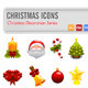 16 Christmas Vector Icons - GraphicRiver Item for Sale