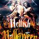 Hellish Halloween Flyer Template v2 - GraphicRiver Item for Sale