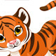 Playful tiger cub  - GraphicRiver Item for Sale