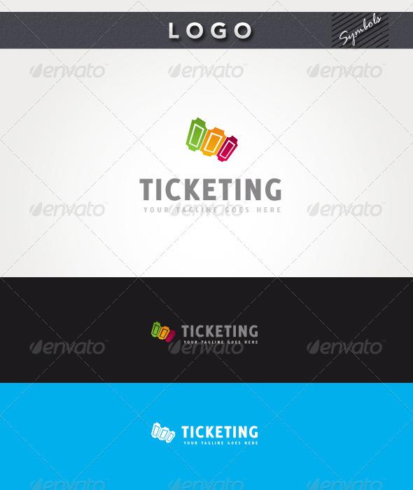 Ticketing Logo - Symbols Logo Templates