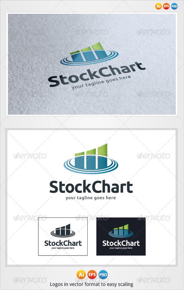 Stock Chart Logo - Symbols Logo Templates