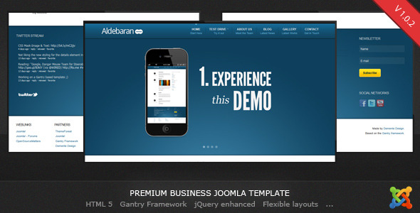 Aldebaran joomla 16 business template by dementedesign themeforest screenshots01 aldebaran joomla 16 business templateg friedricerecipe Image collections