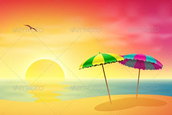 Beach - Travel Conceptual