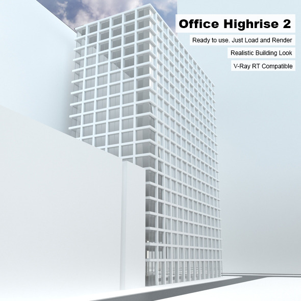 Building Highrise - 3DOcean Item for Sale