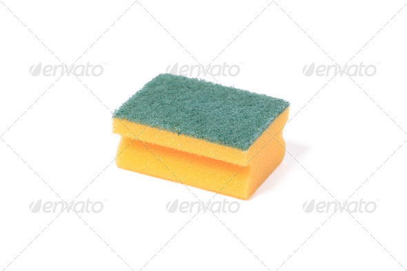 kitchen sponges - Stock Photo - Images