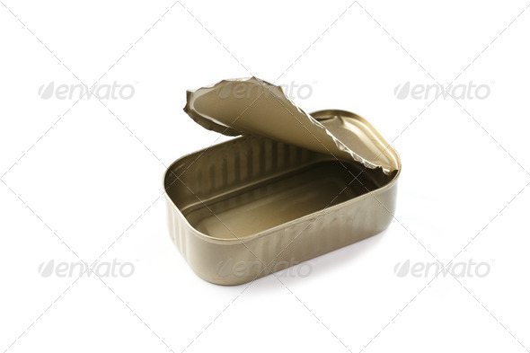 sardines can - Stock Photo - Images