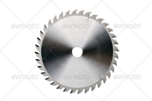 saw blade - Stock Photo - Images
