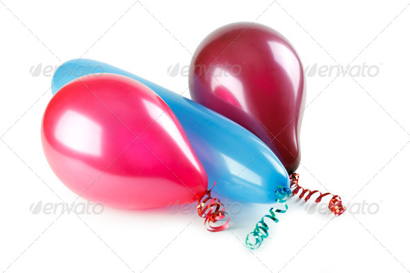 colorful ballons - Stock Photo - Images