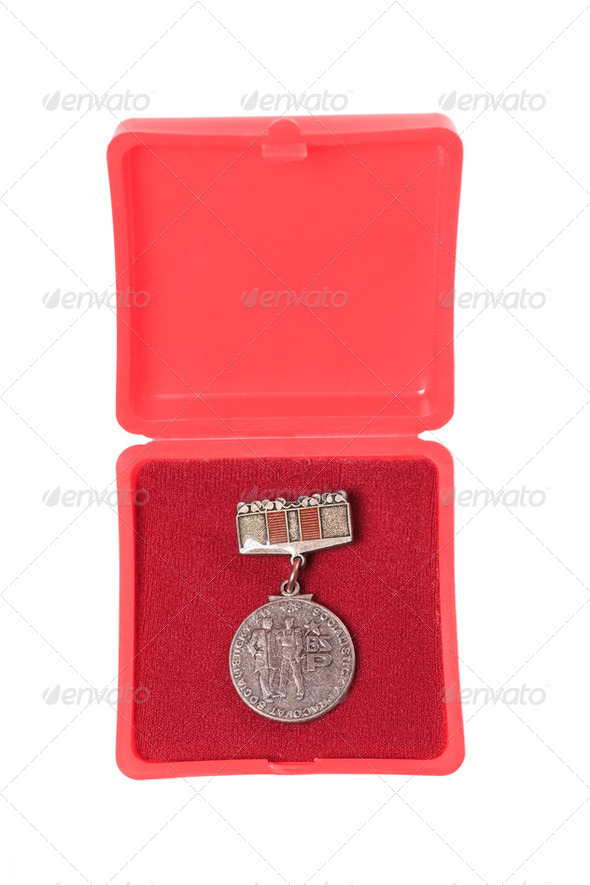 Communist Medals - Stock Photo - Images