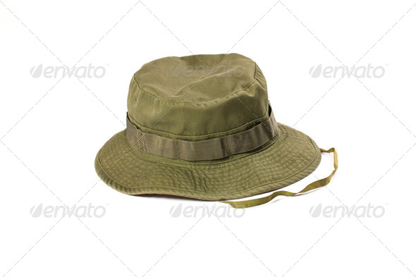 military hat - Stock Photo - Images
