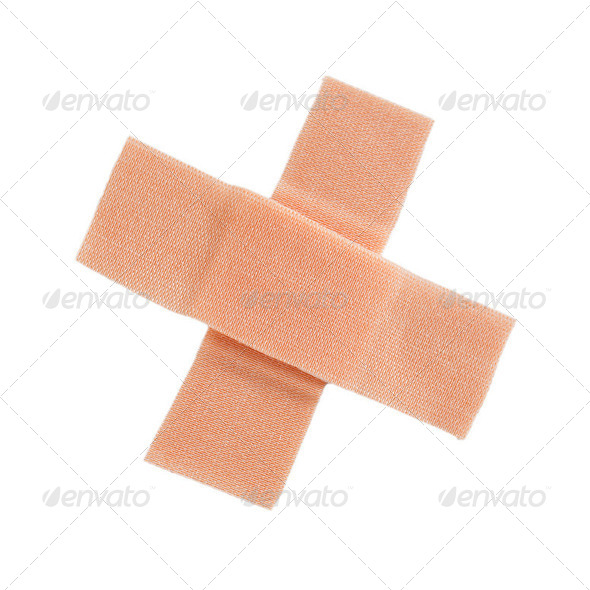 band aid - Stock Photo - Images