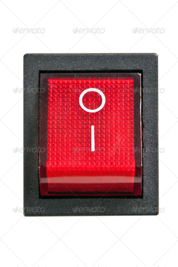 power switch - Stock Photo - Images