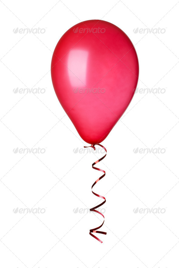 red ballon - Stock Photo - Images
