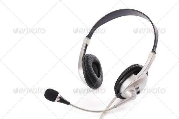 headset - Stock Photo - Images