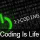 Coding Is Life HD  - GraphicRiver Item for Sale