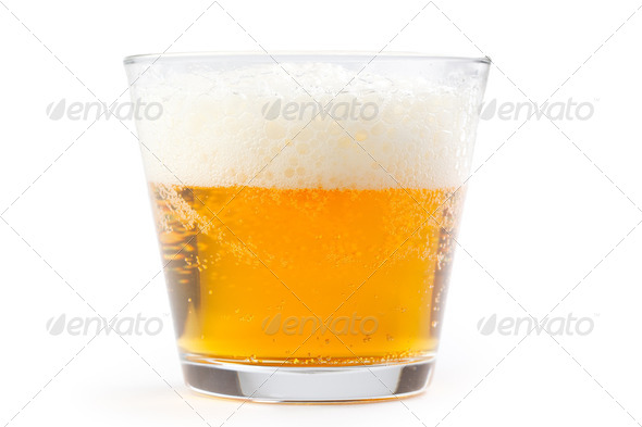 beer in glass - Stock Photo - Images