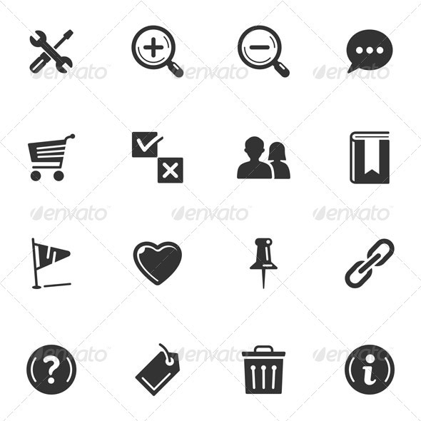 Web Icons-Set 2 - Web Icons