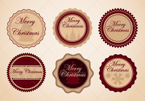 Christmas Labels - Christmas Seasons/Holidays