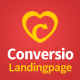 Conversio - Responsive Social & Dating Landingpage Nulled
