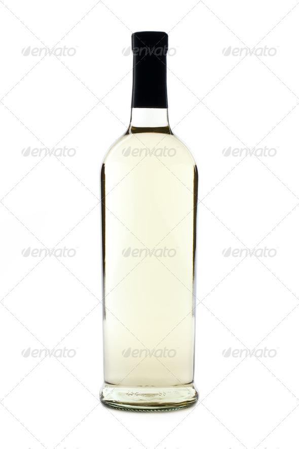 bottle of wine - Stock Photo - Images