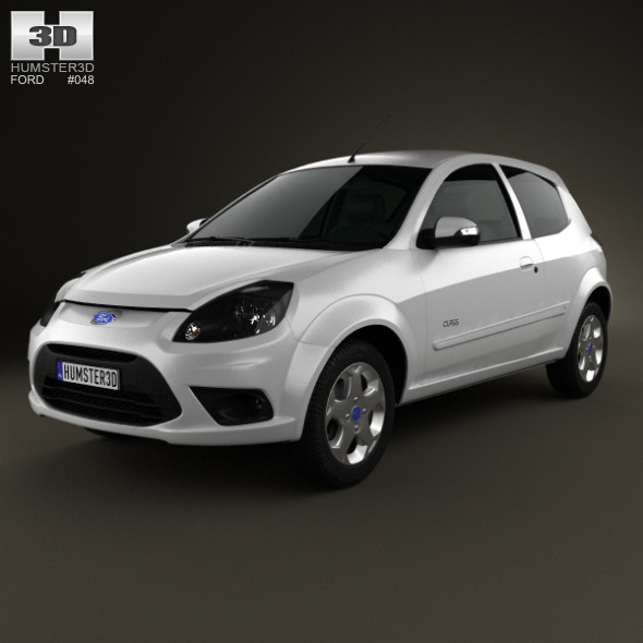 Ford Ka (Brazil) 2012 - 3DOcean Item for Sale