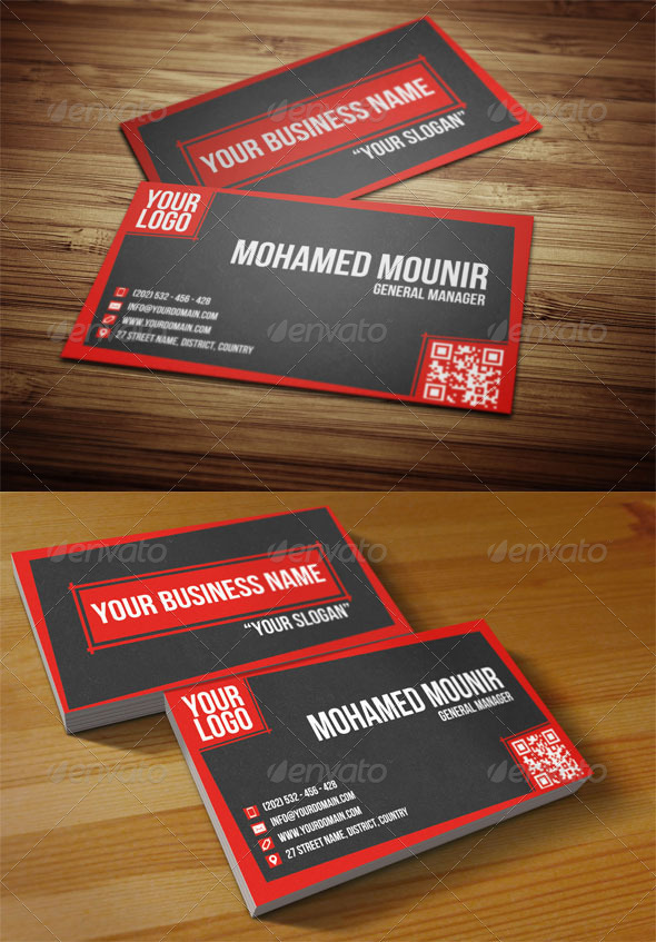 Creative multipurpose business card by mmounirf graphicriver creative multipurpose business card corporate business cards colourmoves