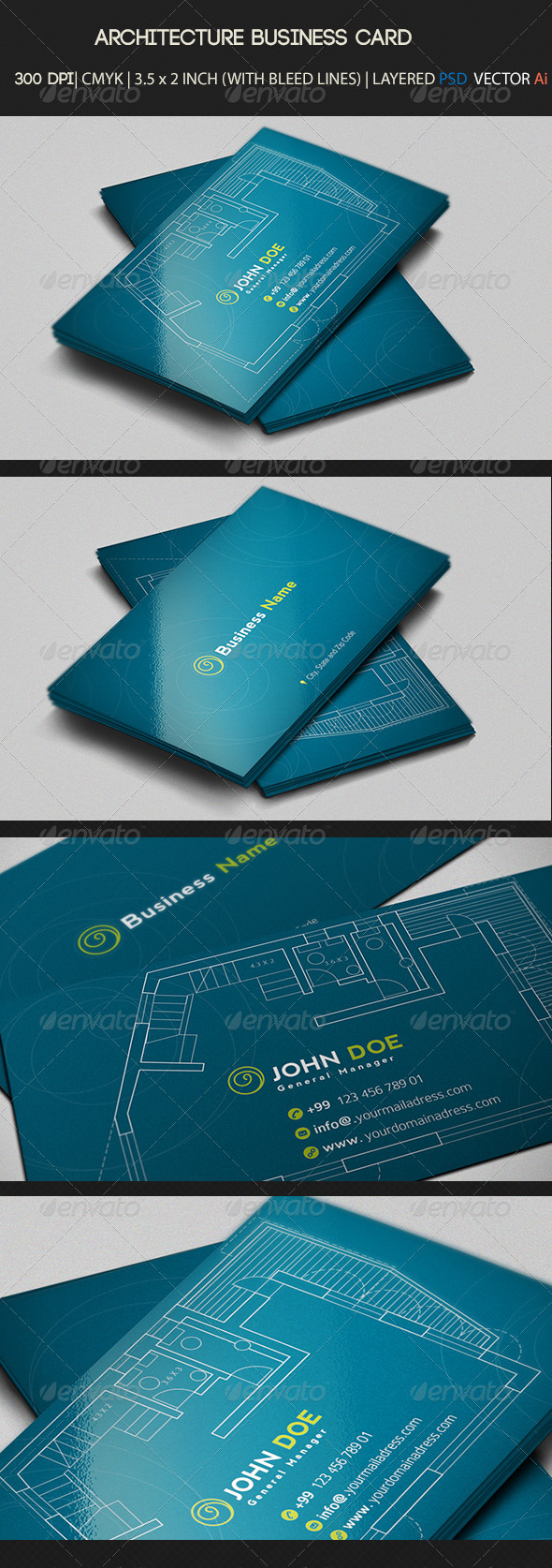 architecture Business Card  - Creative Business Cards