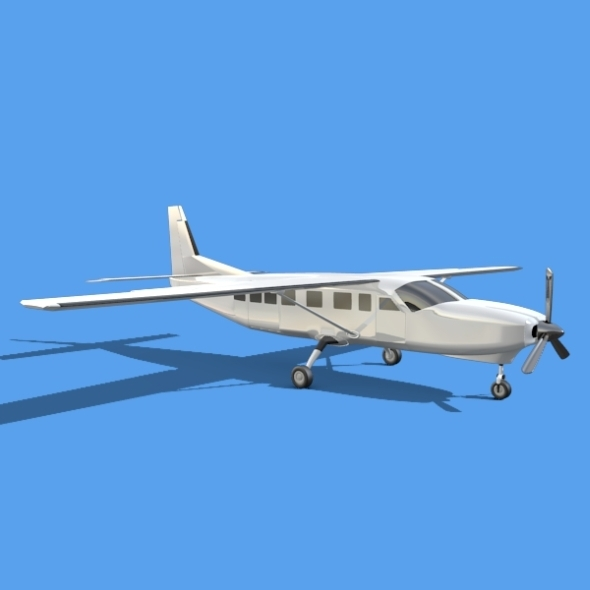 Cessna grand caravan - 3DOcean Item for Sale