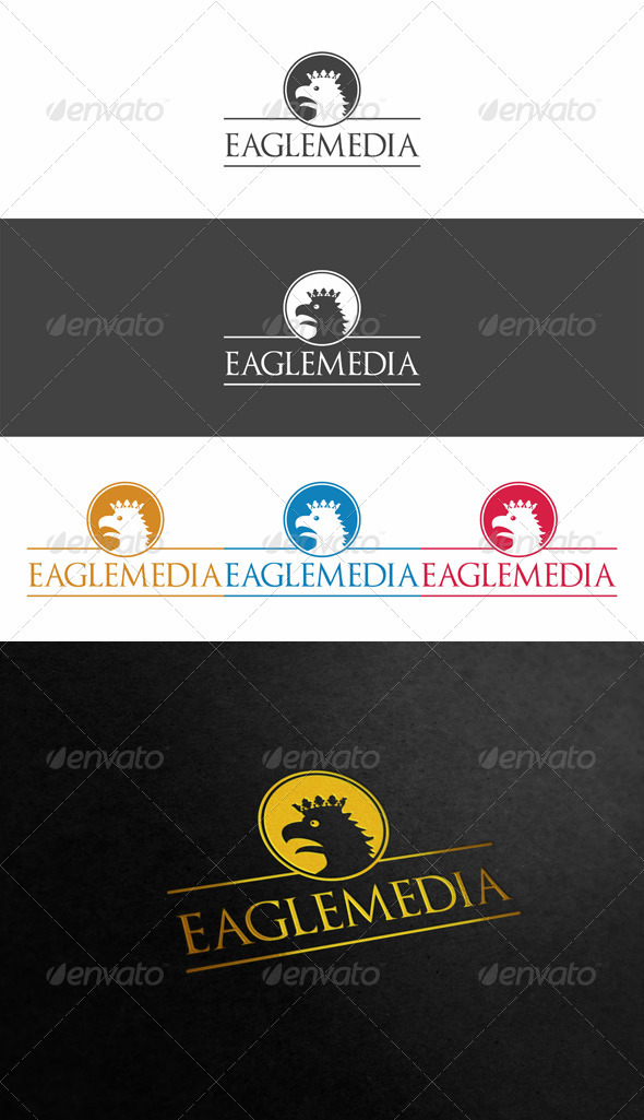 Eagle Media Logo - Animals Logo Templates