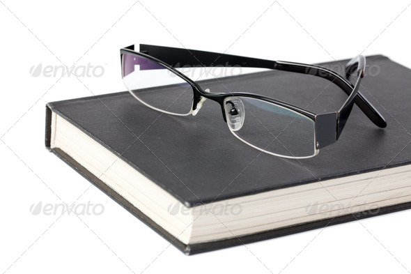 glasses and book - Stock Photo - Images
