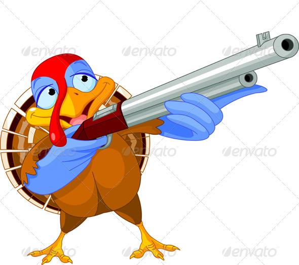 Shooting  Turkey - Animals Characters