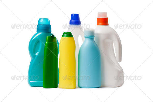 cleaning products - Stock Photo - Images