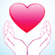 Hand Holding Heart - GraphicRiver Item for Sale