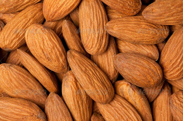 almonds - Stock Photo - Images