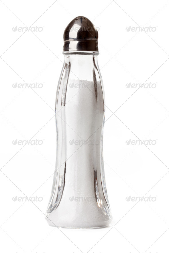 salt shaker - Stock Photo - Images
