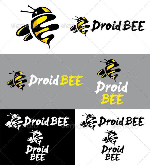 Droidbee Logo - Animals Logo Templates