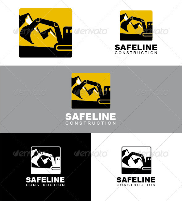 Safeline Construction Logo - Objects Logo Templates