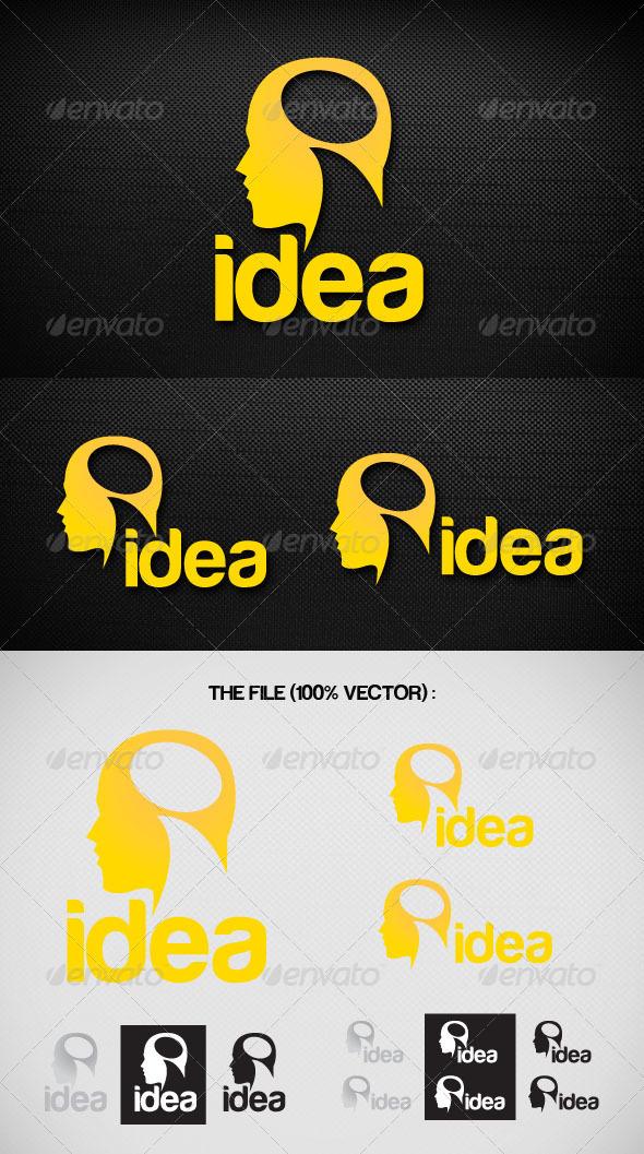 Idea Logo - Humans Logo Templates