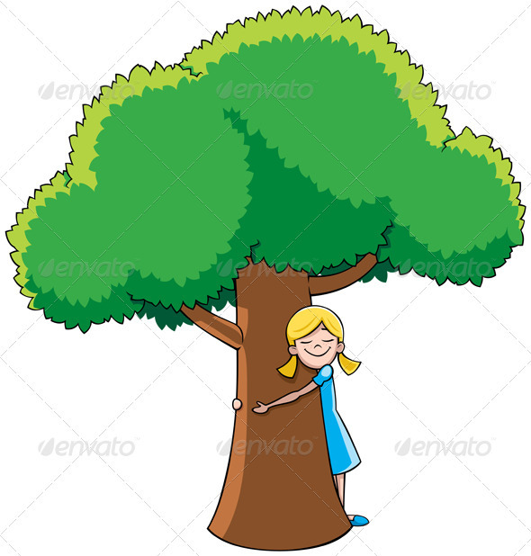 Tree Hugger - Nature Conceptual