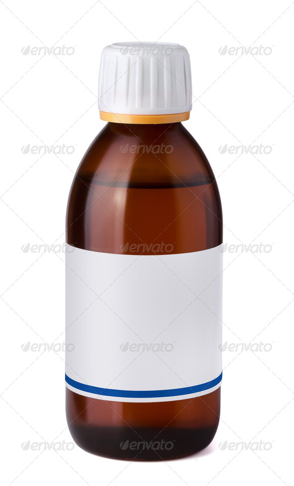 Syrup bottle - Stock Photo - Images