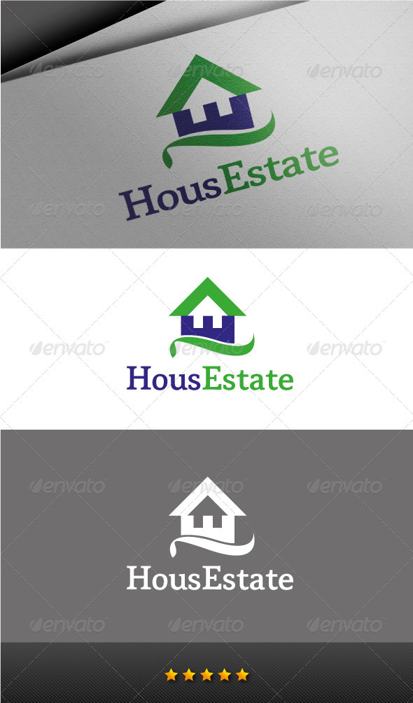 House Estate Logo - Buildings Logo Templates