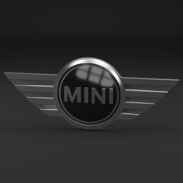Mini Cooper Logo - 3DOcean Item for Sale